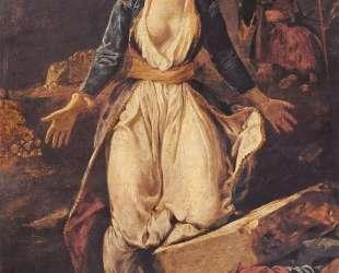 Греция на руинах Миссолонги — Эжен Делакруа
