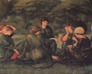 Зеленое лето — Эдвард Бёрн-Джонс