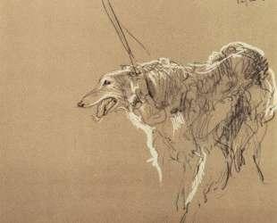 Борзая царской охоты — Валентин Серов