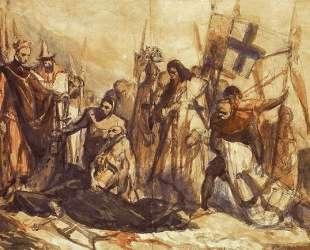 Grunwald battlefield — Ян Матейко