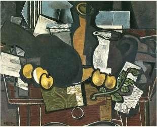 Гитара, фрукты и кувшин — Жорж Брак