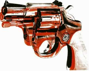 Gun — Энди Уорхол