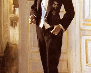 Gustav V — Андерс Цорн