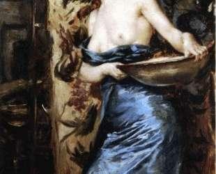 Half Naked Woman — Юлиус Леблан Стюарт