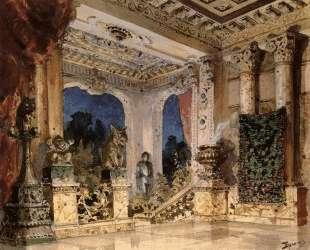 Зал в волшебном замке — Василий Поленов