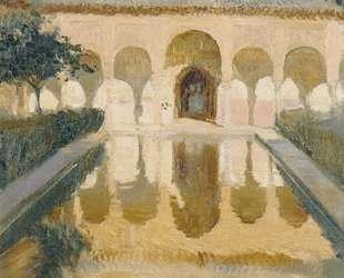 Hall of the Ambassadors, Alhambra, Granada — Хоакин Соролья