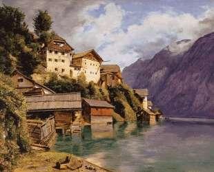 Hallstatt — Фердинанд Георг Вальдмюллер