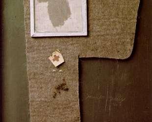 Половина войлочного креста с рисунком пылью 'Магда' — Йозеф Бойс