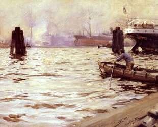 Hamburg Harbour — Андерс Цорн