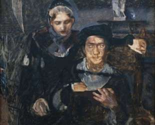 Hamlet and Ophelia — Михаил Врубель
