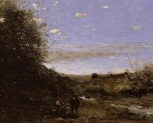 Гамлет и гробовщики — Камиль Коро