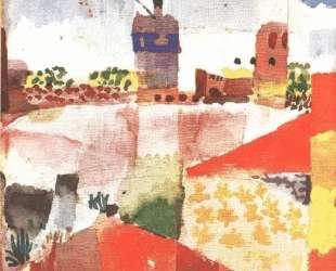 Hammamet with mosque — Пауль Клее