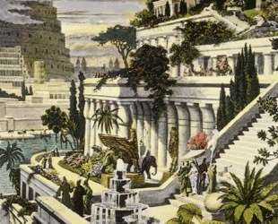 Hanging Gardens of Babylon — Мартен ван Хемскерк