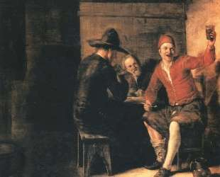 Happy drinker — Питер де Хох