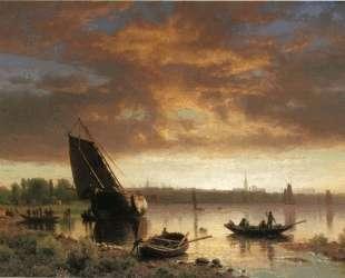 Harbor Scene — Альберт Бирштадт