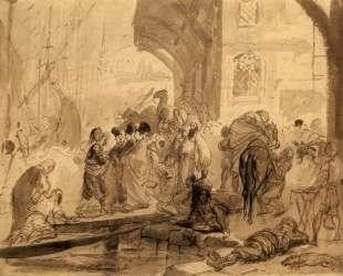 Гавань в Константинополе — Карл Брюллов