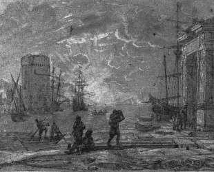 Harbour Scene — Клод Лоррен