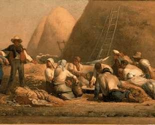 Жнецы на отдыхе — Жан-Франсуа Милле