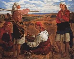 Жатва — Зинаида Серебрякова