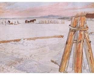 Harvesting ice — Карл Ларссон