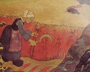 Harvesting of buckwheat in Britain — Жорж Лякомб