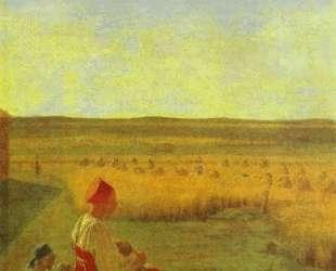 Harvesting. Summer — Алексей Венецианов