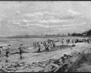 Hauling the Seine — Томас Икинс