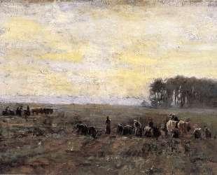 Haying Scene — Теодор Клемент Стил