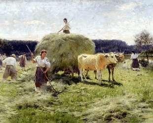 Haymaking — Наталья Гончарова