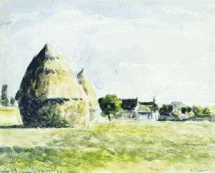 Haystacks — Камиль Писсарро