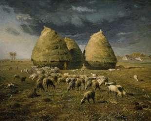 Осенние стога — Жан-Франсуа Милле
