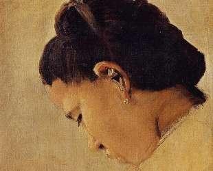 Голова девушки — Жорж Сёра