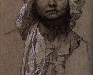 Head of a girl — Леонардо да Винчи