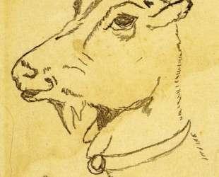 Head of a Goat — Диего Ривера