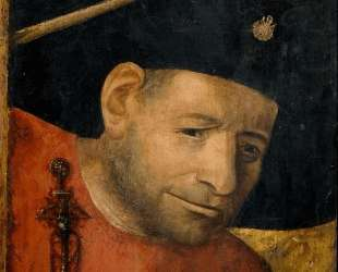 Голова алебардщика — Иероним Босх
