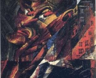 Head of a Man (Self-Portrait) — Отто Дикс