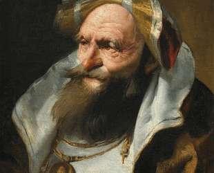 Head of a Scholar — Джованни Доменико Тьеполо