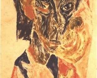Head of a Sick Man — Эрнст Людвиг Кирхнер
