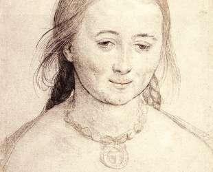 Head of a Woman — Ганс Гольбейн Младший
