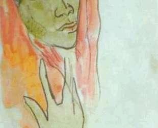 Голова женщины — Давид Бурлюк