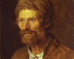 Head of an Old Ukranian Peasant — Иван Крамской
