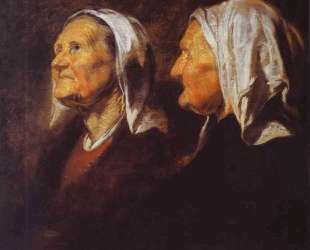 Head of an Old Woman — Якоб Йорданс