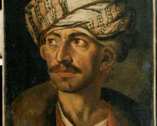 Head of an Oriental, or Portrait Presumed to be Mustapha — Теодор Жерико