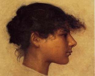 Head of Ana Capri Girl — Джон Сингер Сарджент
