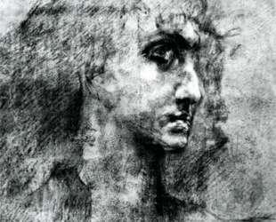 Head of angel — Михаил Врубель