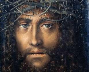 Голова Христа, коронованного терновым венцом — Лукас Кранах Старший