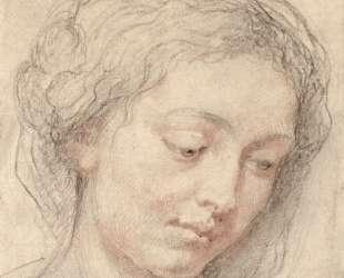 Head of woman — Питер Пауль Рубенс