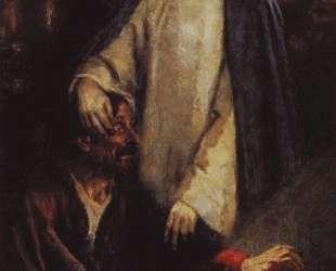 Исцеление слепорожденного Иисусом Христом — Василий Суриков