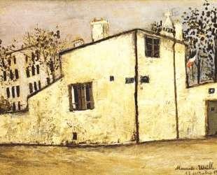 Hector Berlioz's house — Морис Утрилло