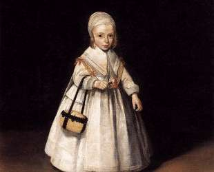 Helena van der Schalcke as a Child — Герард Терборх